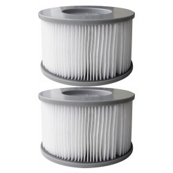 2 Filtres MSpa (1 boite de 2 filtres)