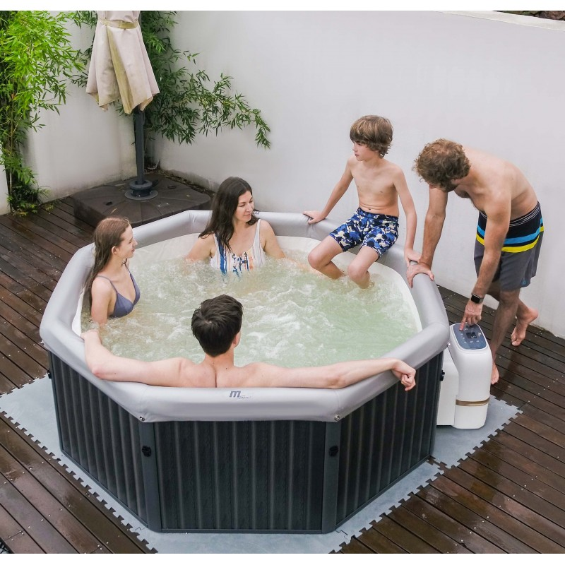 MSpa Frame Tuscany F-TE061 Spa Gonflable pour 6 personnes
