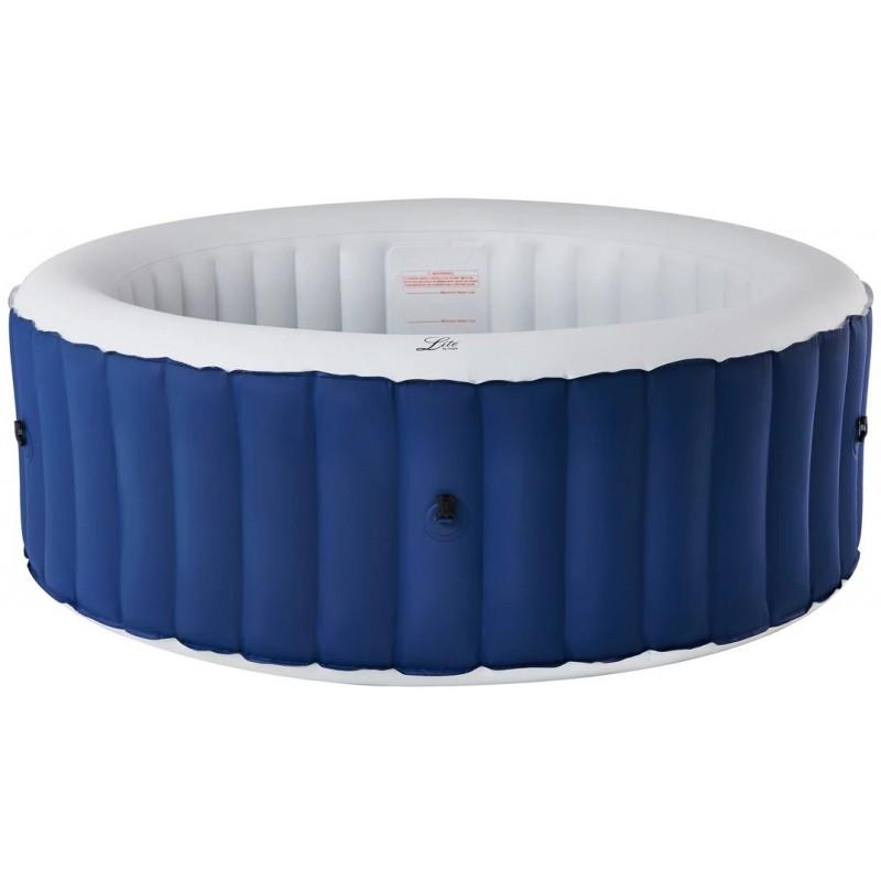 MSpa Lite Round Blue Spa Gonflable pour 4 ou 6 personnes