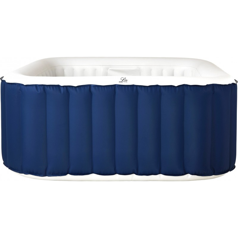 MSpa Lite Square Blue Spa Gonflable pour 4 ou 6 personnes